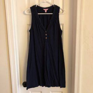 Navy Lilly Pulitzer Dress M